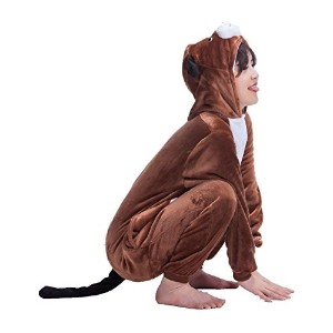 (犬 コスチューム) Unisex-Adult Anime Cosplay Outfit Dog Halloween Costumes Pajamas-  polo