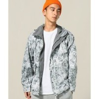 and wander / アンドワンダー: white forest printed jacket【ジャーナルスタンダード/JOURNAL STANDARD メンズ ブルゾン・スタジャン グレー...