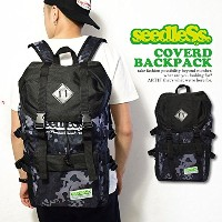 (シードレス)seedleSs COVERD BACKPACK sd16sm-bg05 CAMO FREE