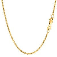 14k Yellow Gold Forsantina Chain Necklace, 2.3mm, 18""