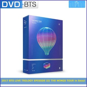 DVD / 2017 BTS LIVE TRILOGY EPISODE III THE WINGS TOUR in Seoul/リージョンコード:13 /1次予約/送料無料/初回ポスター