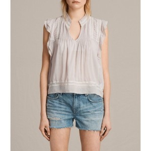 【SALE 30%OFF】EVELINA TOP (Pale Grey)