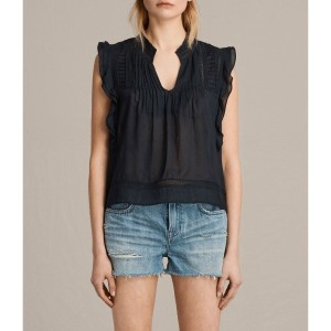 【SALE 30%OFF】EVELINA TOP (Black)