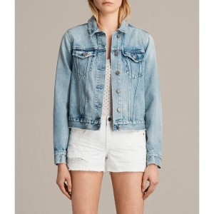 HAY DENIM JACKET (MID INDIGO BLUE)