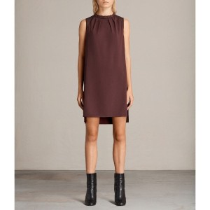 JAY DRESS (BORDEAUX RED)