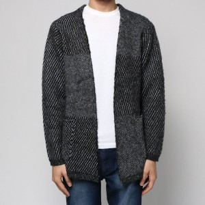 【SALE 50%OFF】コムサイズム COMME CA ISM 格子柄起毛カーディガン (その他)
