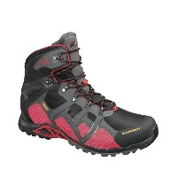 17FW マムート(MAMMUT) Comfort High GTX SURROUND メンズ 3020-04370 0575 black-inferno シューズ