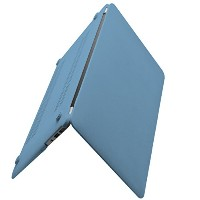 Macbook Air 11.6 See Throughハード保護ケースカバーfor MacBook Air 11.6インチ(A11, Blue Grey)