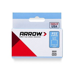"Arrow Fastener225Staple-5/16"" STAPLE (並行輸入品)"