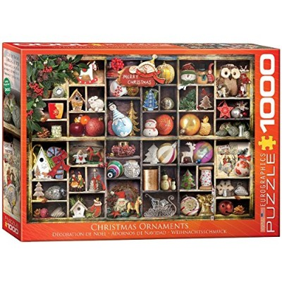 EuroGraphics Christmas Ornaments Puzzle (1000 Piece) [並行輸入品]