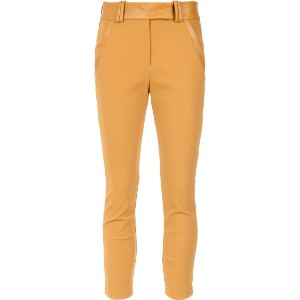 Gloria Coelho - belted leggings - women - ポリアミド/スパンデックス - P