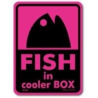 FS-189/釣りステッカー/FISH in cooler BOX-05