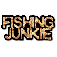 FS-196/FISHINGステッカー/FISHING JUNKIE-02