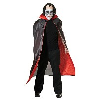 Bristol Novelty Dracula Cape. Red Lined Adult Costume - Men's - One Size