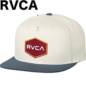 RVCA Commonwealth Snapback Hat Cap White キャップ 並行輸入品