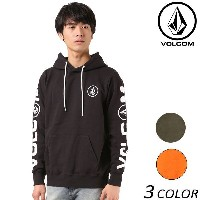 SALE セール 20%OFF メンズ パーカー VOLCOM ボルコム MU PULLOVER A41317JH EE3 J18