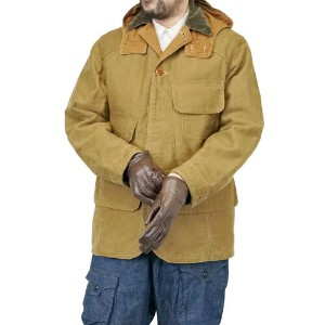 FREEWHEELERS フリーホイーラーズ NASSAU COAT LATE 1910s OUTDOOR SPORTS HUNTING COAT YARN-DYED KHAKI