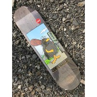 【Almost】HASLAM CATPAIN CAVEMAN DECK 7.875x 31.4 スケートボード デッキ Mellow Concave steep kick