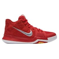 "Nike Kyrie 3 ""University Red"" キッズ/レディース University Red/University Red/Wolf Grey ナイキ カイリー3 Kyrie..."