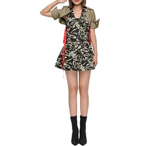 Zhhlaixing コスプレ仮装 Womens Cosplay Camouflage Costumes Special Nightclubs Dresses セクシーな女性 Uniforms...