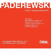 Paderewski: Complete Piano Works Vol.2