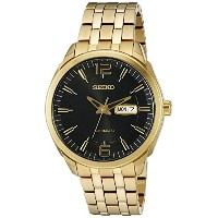 セイコー Seiko Men's SNKN48 RECRAFT Automatic Analog Display Japanese Automatic Gold Watch [並行輸入品]
