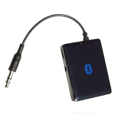 KOKKIA A10 (NEW Luxurious Black) Universal 3.5mm EDR Bluetooth Stereo Transmitter for iPod/iPhone...