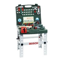 BOSCH(ボッシュ) ミニワークセンター ワークベンチ 工具セット Tool Shop with Cordless Screwdriver Work Center Work Bench 並行輸入品