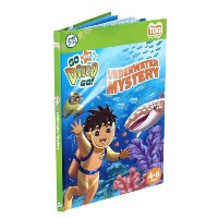Leapfrog Tag Activity Storybook Go Diego Go!: Underwater Mystery リープフロッグ タグアクティビィティブック ゴー!ディエゴ、ゴー!