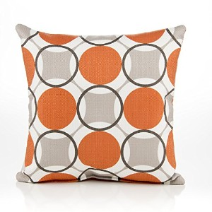 Sweet Potato Echo Circle Print Pillow by Sweet Potatoes