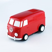 RECORD RUNNER レコードランナー (Volkswagen Type 2, Cherry Red) レコードプレーヤー
