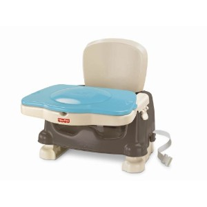 Fisher-Price Healthy Care Feeding Tray/Seat Healthy Care Deluxe Booster - Brown/Tan. by Fisher...