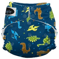 Imagine Baby Products Stay Dry All-In-One Snap Diaper, Rawr by Imagine Baby Products