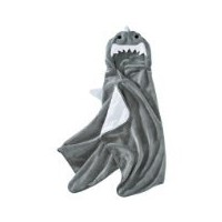 Circo? Shark Hooded Towel - Skyline Gray by Circo