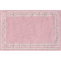 The Rug Market Abc Pink Children's Area Rug, 2.8' X 4.8 by The Rug Market