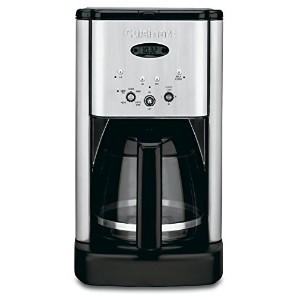 Cuisinart  クイジナート DCC-1200 Brew Central 12-Cup Programmable Coffeemaker 12カップコーヒーメーカー 【並行輸入品】 (Brushed Chrome)
