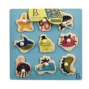 B. Hide N' Sea Puzzle Plank by B. Toys