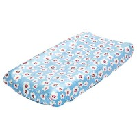 Sweet Tweet Floral Changing Pad Cover by True Baby by True Baby