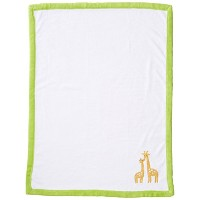 Carter's Animals Collection Appliqued Coral Fleece Blanket by Carter's