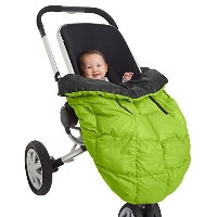 7AM Enfant Cygnet: 3-in-1 Cover for the Baby Carrier, Car-Seat and Stroller, Neon Lime/Black by 7AM...