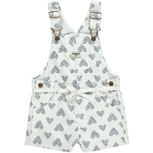 OshKosh B'gosh Print Shortall (Baby) - Hearts-6 Months by OshKosh B'Gosh