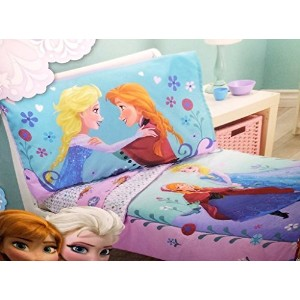 Disney- Frozen 4 Piece Toddler Bedding Set by Disney