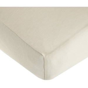 TL Care 100% Cotton Flannel Fitted Crib Sheet, Ecru by TL Care