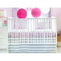 New Arrivals 2 Piece Crib Bed Set, Paper Moon by New Arrivals