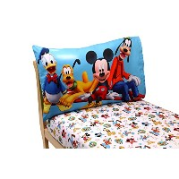Disney Mickey Mouse Clubhouse Toddler Sheet Set by Disney