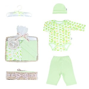 Tadpoles Mod Zoo Layette Gift Set, Gator/Green, 0-6 Months by Tadpoles