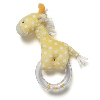 Gund Baby Lolly Baby Ring Rattle, Giraffe by GUND