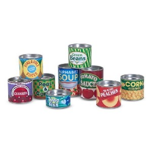 Melissa & Doug Canned Food Set
