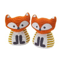 Lolli Living Bookend Friends, Fox Knit by Lolli Living