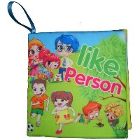 """Baby Cloth Book """"Like Person"""""""